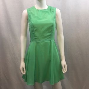 UEC fit n flare lime green dress from Forever 21